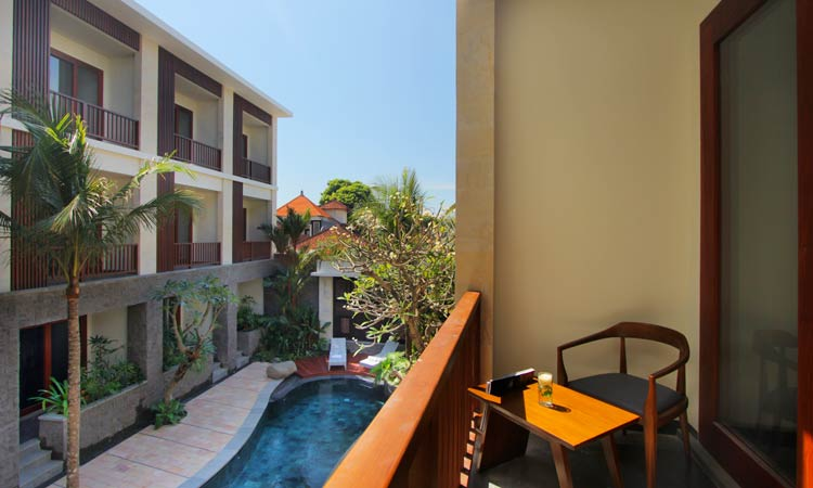 deluxe pool view at akana sanur - the bali channel