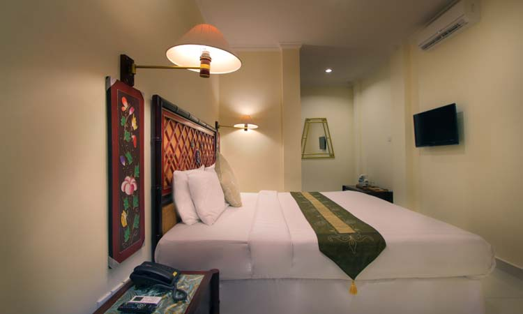 deluxe room - the bali channel