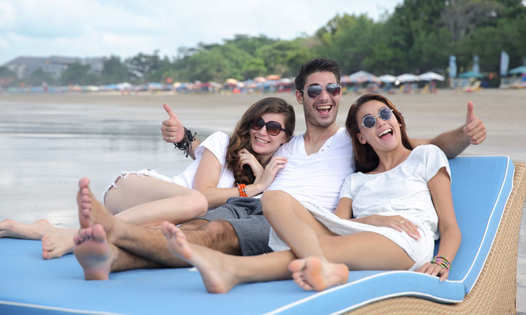 legian beach relaxation - the bali channel