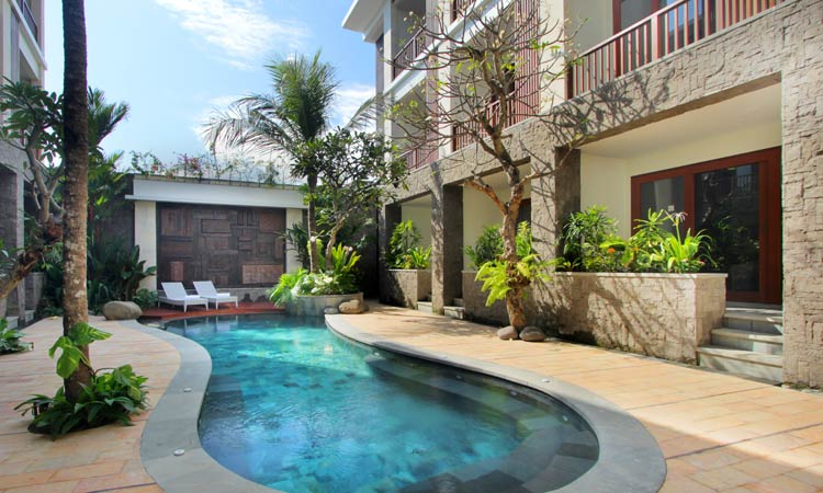 swimming pool at akana sanur - the bali channel