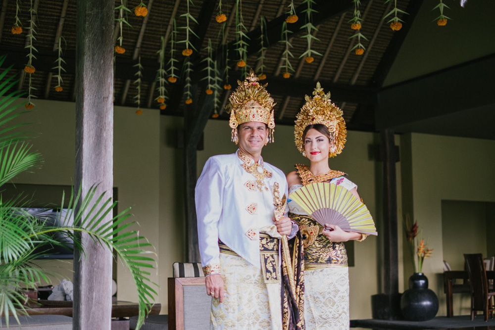 balinese wedding custom - ubud happy bali wedding