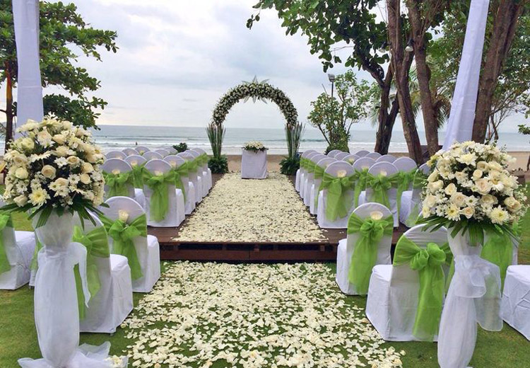anantara seminyak beach wedding - bali wedding resort