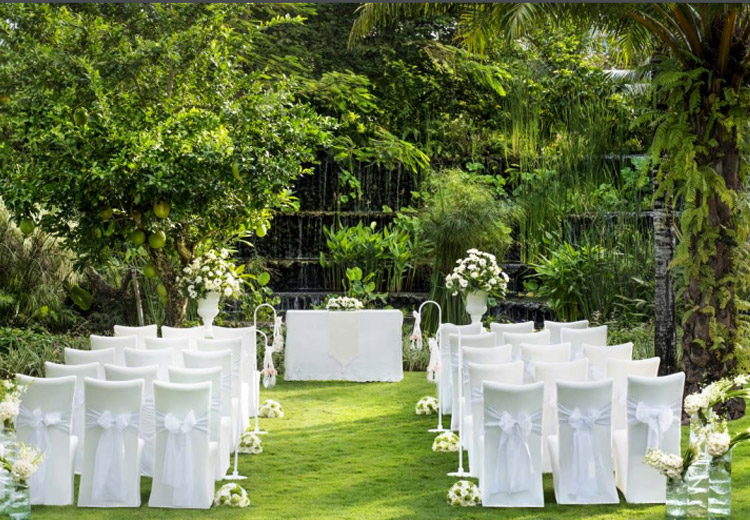 the laguna bali resort - garden wedding venue