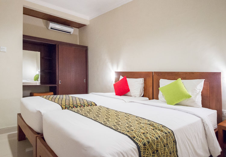 twin bedroom nesa sanur