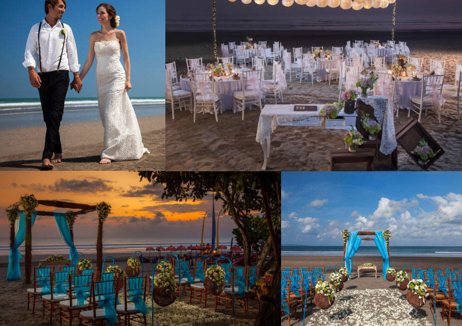 courtyard marriot bali seminyak wedding beach