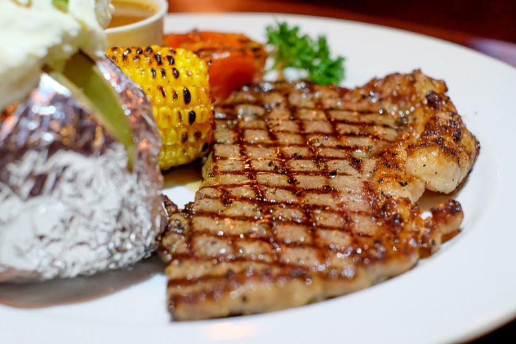 beef menu at arena pub & restaurant sanur