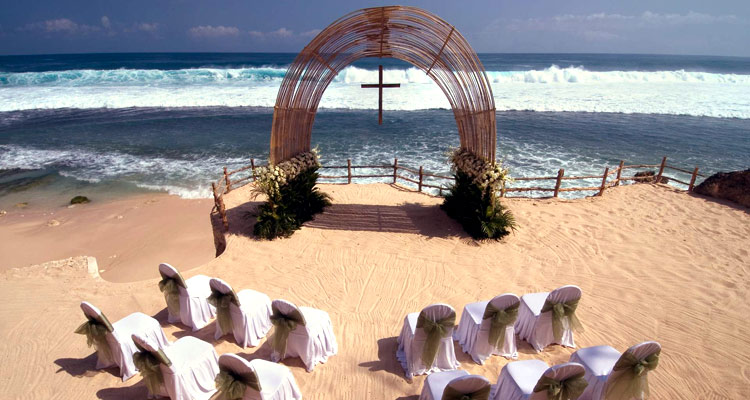 bulgari resort bali beach wedding chapel