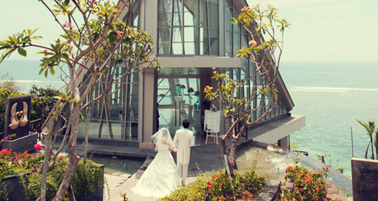 samabe bali resort wedding chapel