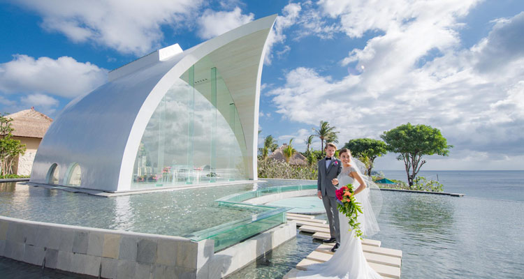 tresna wedding chapel at ayana resort bali