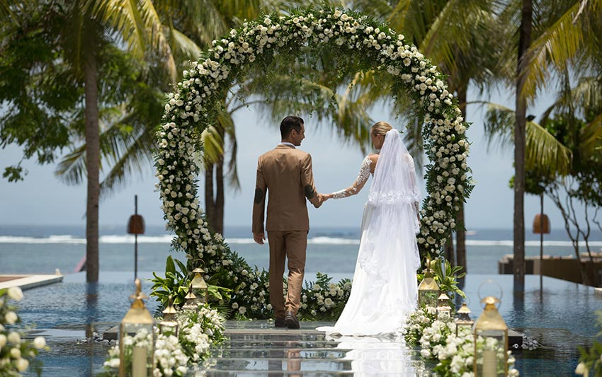 The Royal Santrian Bali Weddings